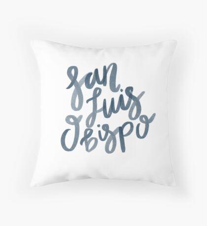 San Luis Obispo Throw Pillow