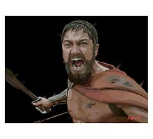 Spartan by Moozie32art