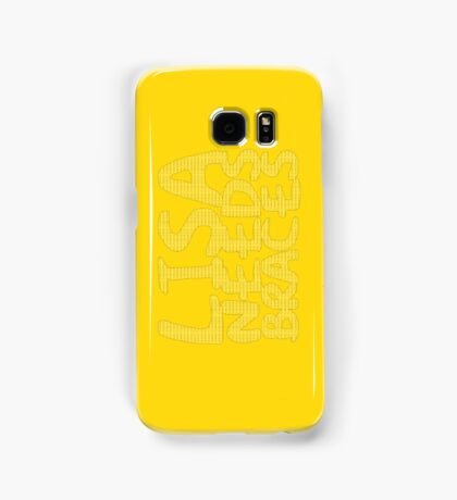 DENTAL PLAN - LISA NEEDS BRACES Samsung Galaxy Case/Skin