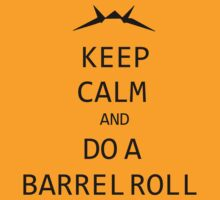 Keep Calm and Do A Barrel Roll by WKWF