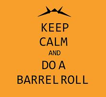 Keep Calm and Do A Barrel Roll Unisex T-Shirt