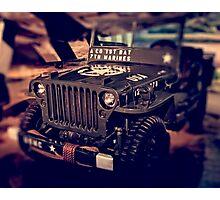 Jeep 4 Photographic Print