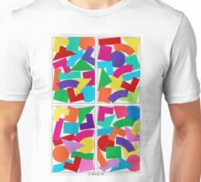 COLOR COMPOSITIONS WITH FIGURES Unisex T-Shirt