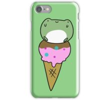 Frog Icecream iPhone Case/Skin