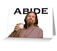 The Dude Shirt Greeting Card