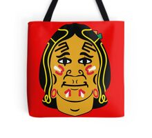 Blackhawks logo - From Front Tote Bag
