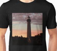 Cape May Point Lighthouse Sunset  Unisex T-Shirt