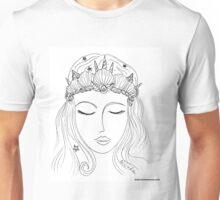 Mermaid Crown (#Mermaid) Unisex T-Shirt