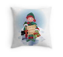 """It's Christmas Time!""  Throw Pillow"