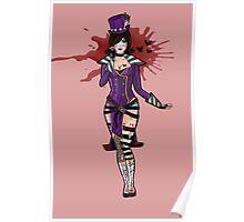 Mad Moxxi- Purple Poster