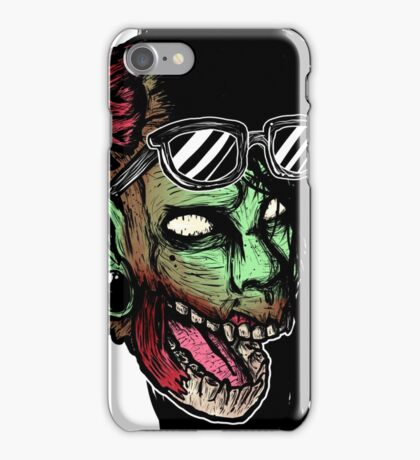 The Punk With Brains iPhone Case/Skin