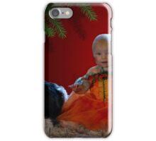 Hallowwen princess and dog iPhone Case/Skin