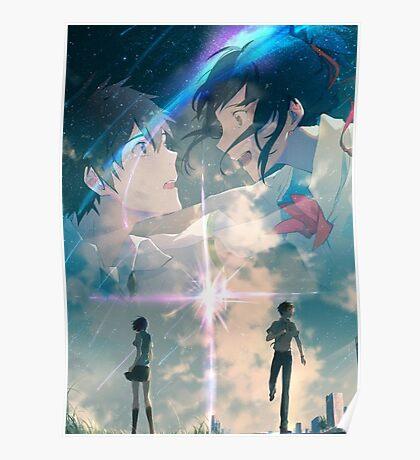 Mitsuha and Taki - Your name Poster