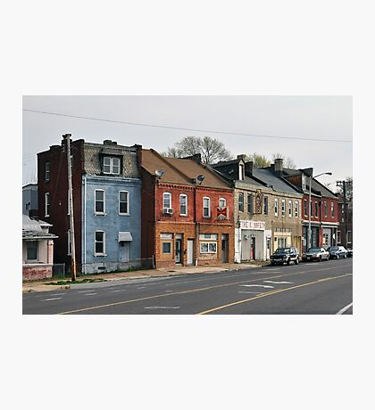 Broadway Streetscape Photographic Print