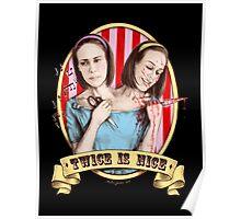Bette & Dot (color) Poster