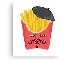 Le French Fries from France Canvas Print