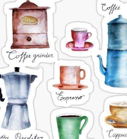It's Coffee Time! Sticker