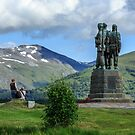 Commando Memorial, Spean Bridge, Scotland by fotosic