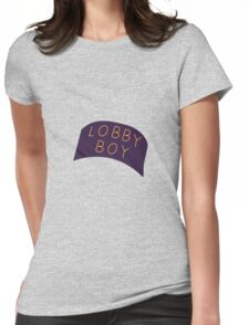 LOBBY BOY Womens Fitted T-Shirt