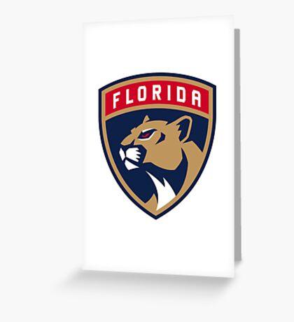 florida logo Greeting Card