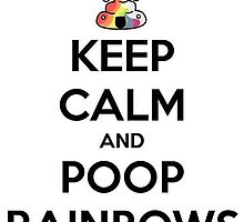Poop Rainbows by Anonymous  Love