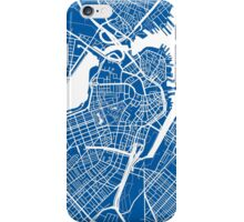 Boston Map iPhone Case/Skin