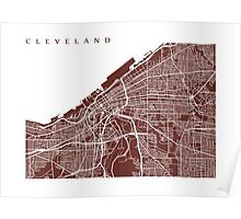 Cleveland Map Poster