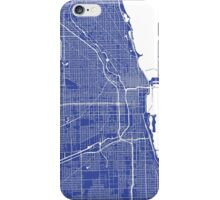 Chicago Map iPhone Case/Skin