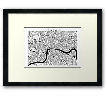 London Map Framed Print