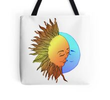 Moon and sun Tote Bag