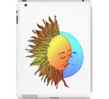Moon and sun iPad Case/Skin