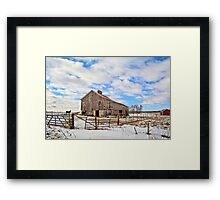 Out Of The Winds Framed Print