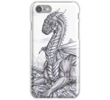Saphira (BW) iPhone Case/Skin