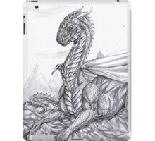 Saphira (BW) iPad Case/Skin