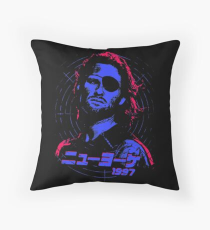 Escape from New York 1997 Japanese Throw Pillow