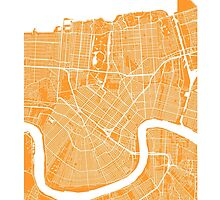 New Orleans (Orange) by CartoCreative