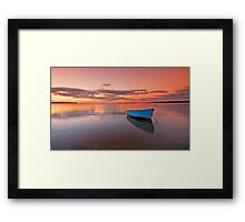Tranquil Twilight - Victoria Point Qld Australia - Framed Print