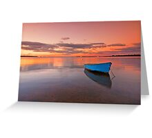 Tranquil Twilight - Victoria Point Qld Australia - Greeting Card