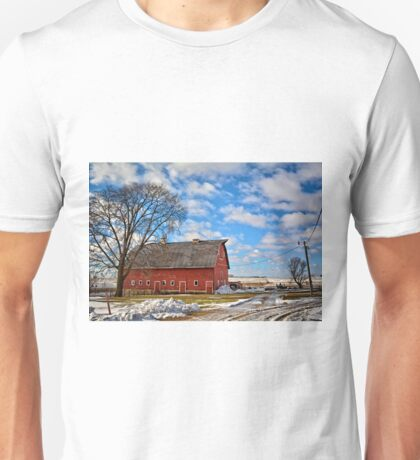 Marsh Avenue Barn 2 Unisex T-Shirt