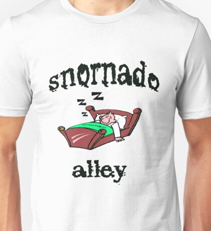 snornado alley Unisex T-Shirt