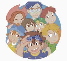 Digimon Adventure - DigiDestined Kids Tee