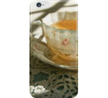 Antique China Teacup on Lace iPhone Case/Skin