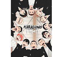 Karasuno - Haikyuu Photographic Print