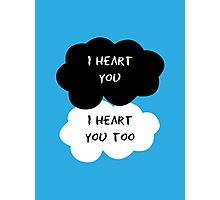 I Heart You Photographic Print