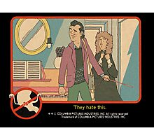 "Venkman - ""They hate this."" Photographic Print"