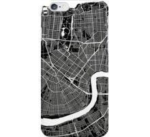 New Orleans (Black) iPhone Case/Skin
