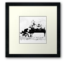 Piano Passion Framed Print