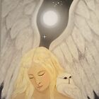 Angel and her Totem Owl by studiololo