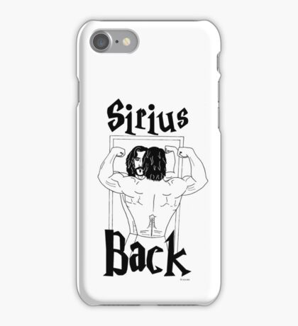 Sirius Back iPhone Case/Skin