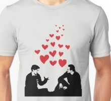Cherik in the Field with Hearts Unisex T-Shirt